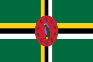 dominica, flag, national flag