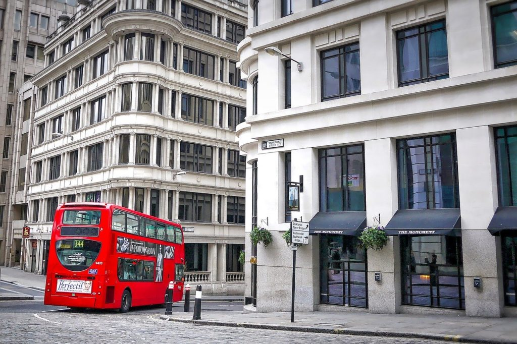 london, red, bus