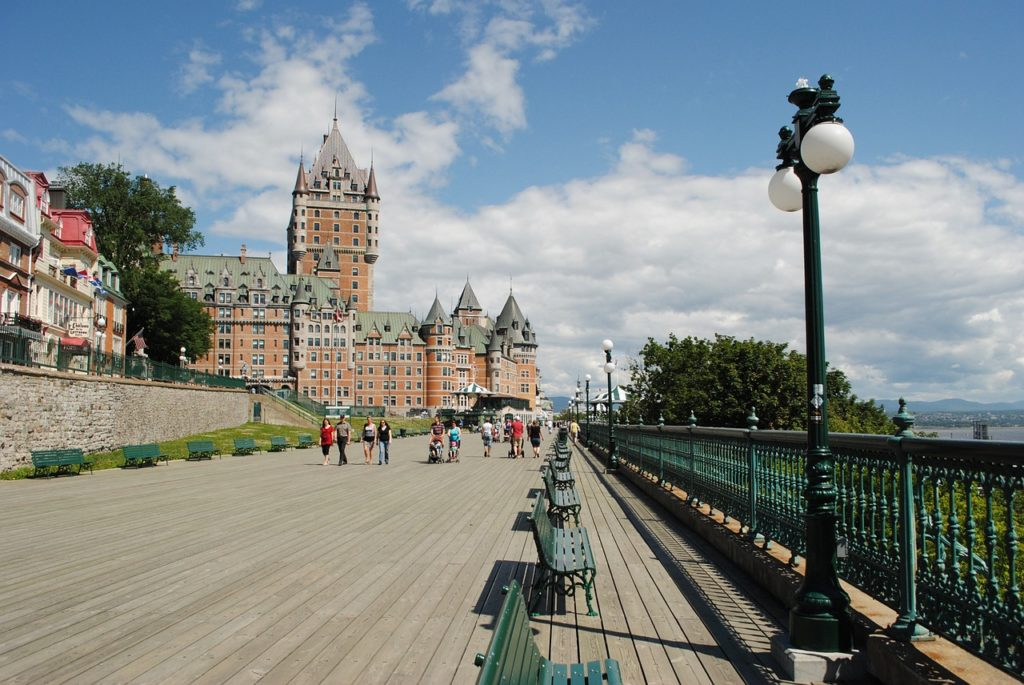 quebec, chateau, castle