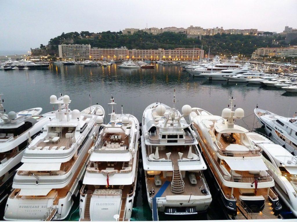 yacht, monaco, pier